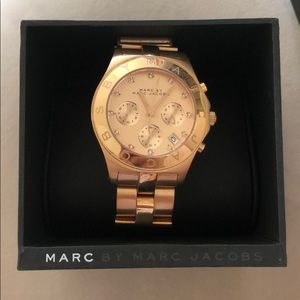 Marc Jacobs, Rose Gold Watch
